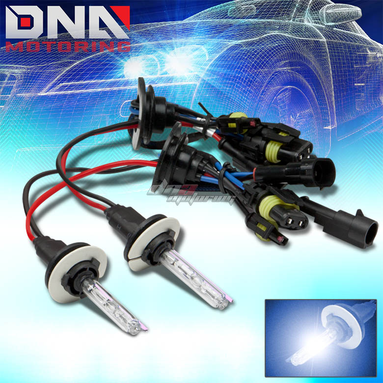 9007 10000K XENON HID BLUE LOW BEAM HEADLIGHT/35W BULBS FOR CHEVY CHRYSLER
